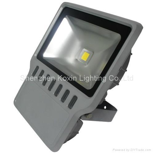 科瑞120瓦防水户外泛光灯CE ROHS认证 驱动过UL认证 2