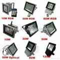 科瑞120瓦防水戶外氾光燈CE ROHS認証 驅動過UL認証 5