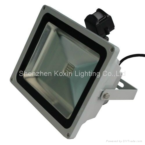 30W high power led floodlight with PIR sensor control 2