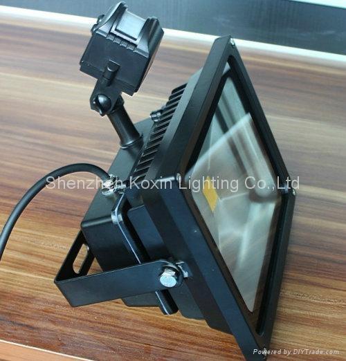 30W high power led floodlight with PIR sensor control 3