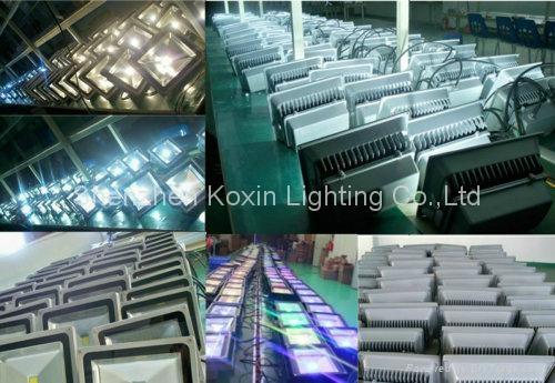 30W high power led floodlight with PIR sensor control 5