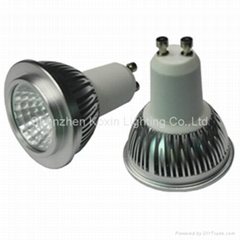 GU10 COB 5W dimmable led spot lights