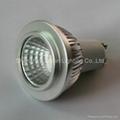 GU10 COB 5W dimmable led spot lights