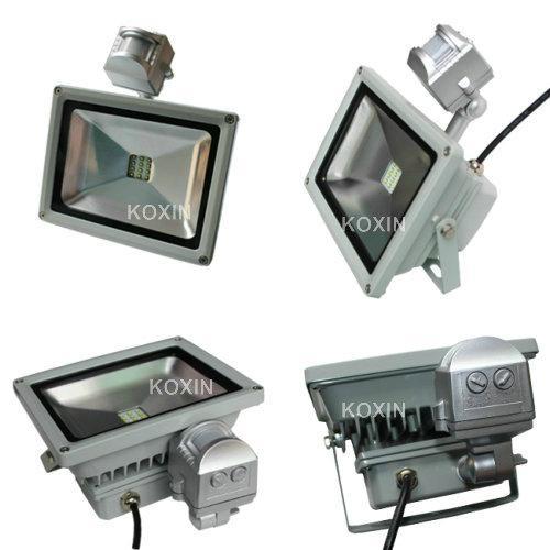 2012 NEW:30W led flood lights with PIR sensor control 1