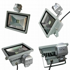 2012 NEW:30W led flood lights with PIR sensor control