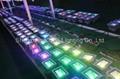 10W RGB floodlight with IR remote controller 5