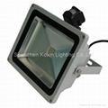 50W led floodlight with sensor(CREE chip+Meanwell driver)