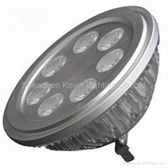 AR111 7W high power led downlights