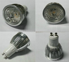 Dimmable  5W cob dia 49.5 led spotlight