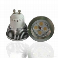 Epistar 4*1 high power led spot lightings