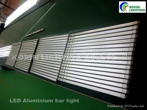 560mm 9W SMD3014 led bar light,high brightness patent rigid led light bar 5