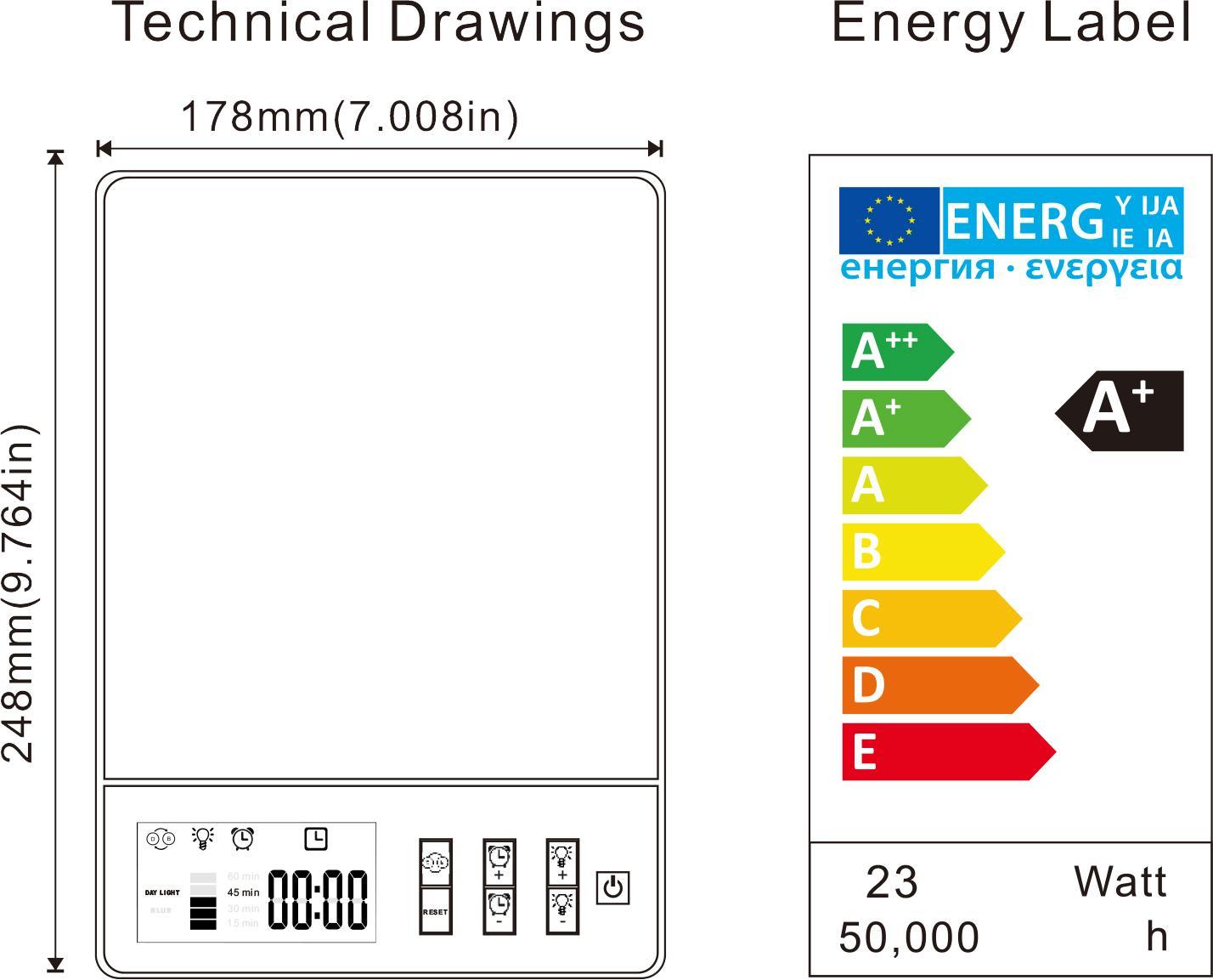 KAPATA 23W 光療燈 美容養顏燈 抑鬱治療燈 8