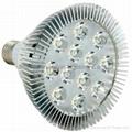 High power led PAR lamp  PAR38 12X1W