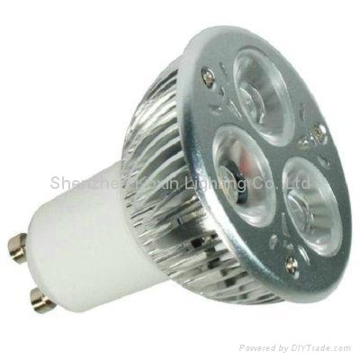 GU10 3*2W 大功率CREE LED 射灯 1