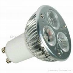 GU10 3*2W 大功率CREE LED 射燈