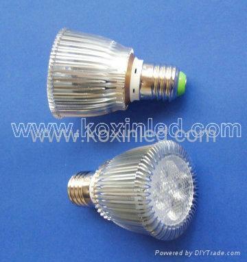 GU10 PAR20 5*2W power led par lamp 4