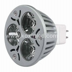 High power led spotlight MR16 3x1W