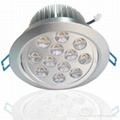 12*1W led筒灯