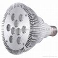 High power led PAR lamp PAR38 9X1W