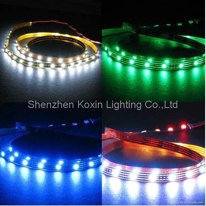 SMD5050 150顆燈一卷的柔性軟光條 1