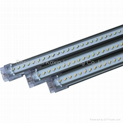 2012 New:SMD3014 120leds/0.86M led bar light(clear cover)