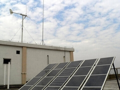 2 KW Wind-solar Hybrid Home System