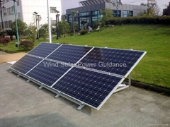 1KW Solar PV System (off-grid type)