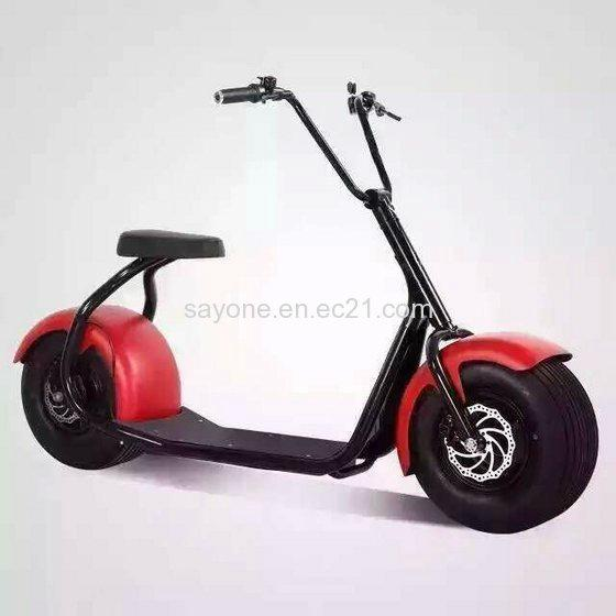 2016 the Most Fashionable Citycoco 2 Wheel Electric Scooter 3