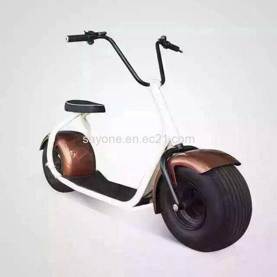 2016 the Most Fashionable Citycoco 2 Wheel Electric Scooter 4