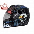 Full Face Motorcycle Helmets with ECE Approval