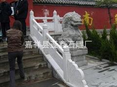 园林石雕栏板栏杆