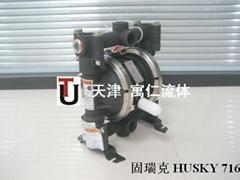 固瑞克气动隔膜泵HUSKY716铝合金不锈钢材质