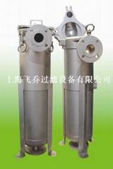 液體過濾器 袋式過濾器 單袋過濾器