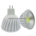 12v cob mr16 led downlight bulb 5w