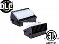 DLC ETL 100W LED wall pack