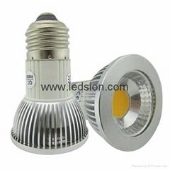 led par16 E27 dimmable spotlight 5W 500lm