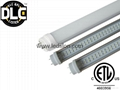 DLC LED Tube 18W 1200mm 90-277V 5