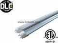 LED tube 4ft 18W 1800lm DLC ETL CE
