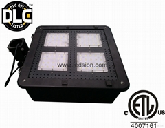 led shoebox 100W CREE 90-277V 347V DLC ETL Court Lamp