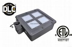 led shoebox 100W CREE 90-277V 347V DLC ETL Court Lamp