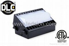 DLC Wall Pack Lamp 150W DLC LED 13500LM 5 Year Warranty