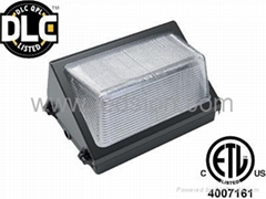 small led wall pack 40w DLC ETL cree led meanwell driver
