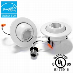 4Inch eyeball downlight Energy star ul listed