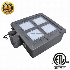USA ETL led shoebox 150W 90-500v usa canada