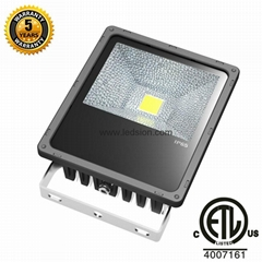 50W LED FLOODLIGHT CREE IP65 ETL SAA 5 YEAR WARRANTY