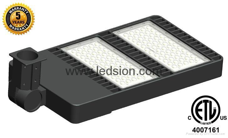 300W LED Shoebox Parking Lot Light ETL Listed 1