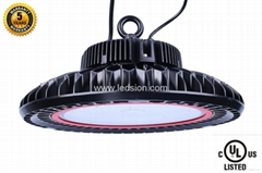 US stock UL 200w LED UFO high bay Philips led