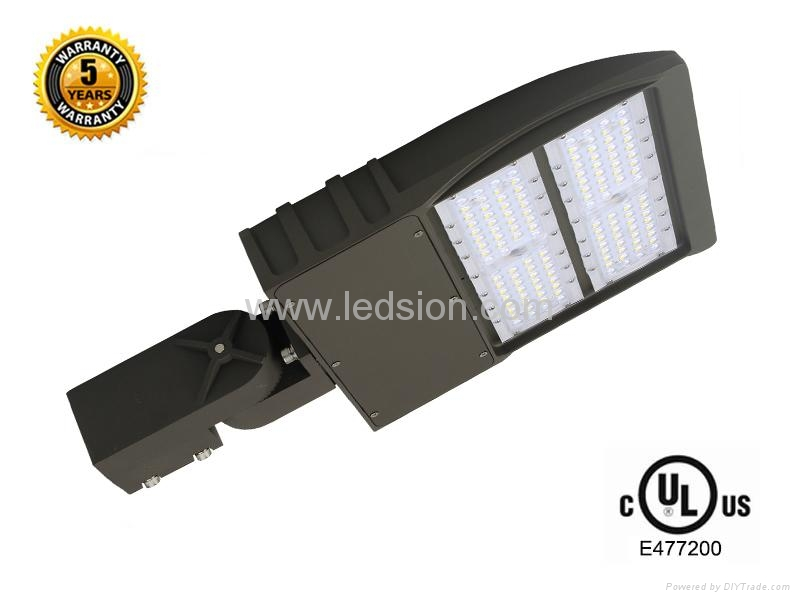 UL 150W  LED shoebox area luminaire light 1