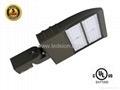 UL 150W  LED shoebox area luminaire
