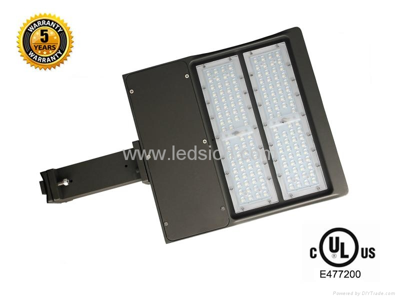 UL 150W  LED shoebox area luminaire light 2